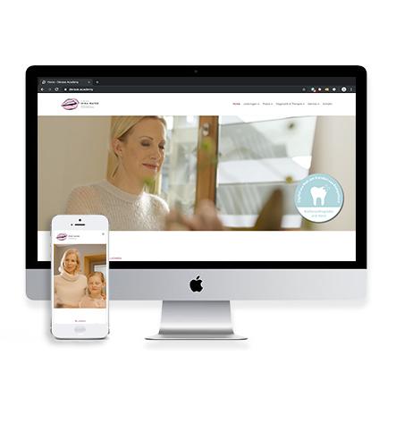 Umsetzung Webauftritt Dr. Mayer aus Frankfurt